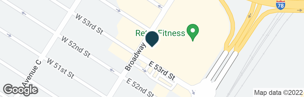 Google Map of1080 BROADWAY