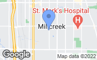 Map of Millcreek, UT