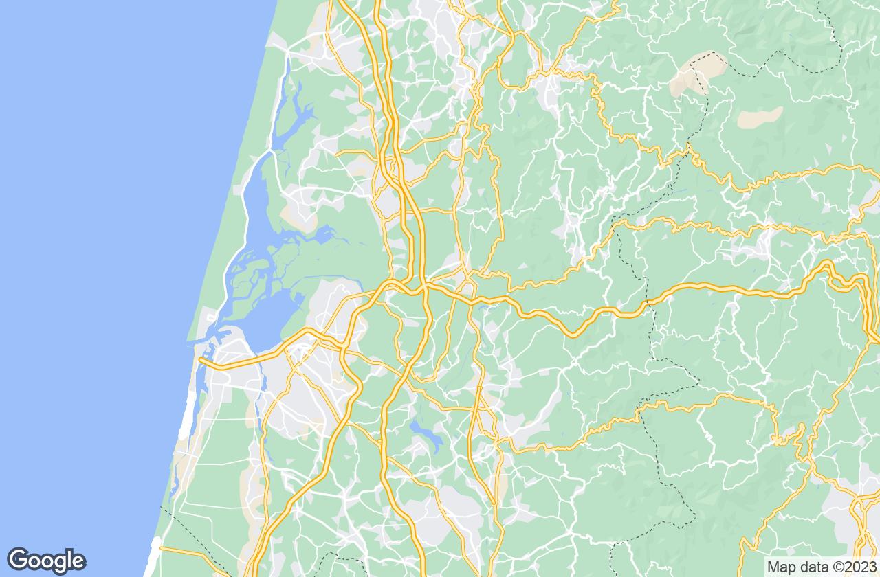 Google Map of البيرجاريا اي فيلها
