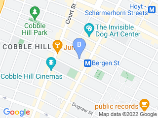 Map of Monster Mutt Doggie Day Care Inc Dog Boarding options in Brooklyn | Boarding