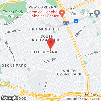 Map of Rite Aid at 119-10 Liberty Avenue, Richmond Hill, NY 11419