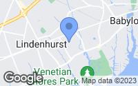 Map of Lindenhurst, NY