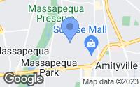 Map of Massapequa Park, NY
