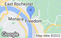 Map of Freedom, PA