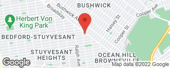 Mapa de 932 Madison St en Brooklyn