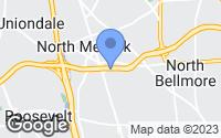 Map of Merrick, NY