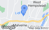 Map of West Hempstead, NY
