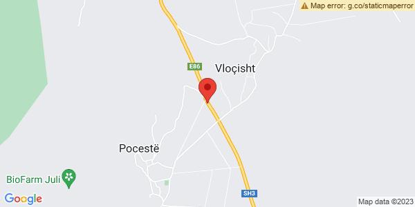 Google Map of SH3, Vloçisht, Αλβανία