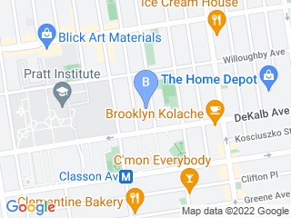 Map of Rufflife Pet Services Dog Boarding options in Brooklyn | Boarding