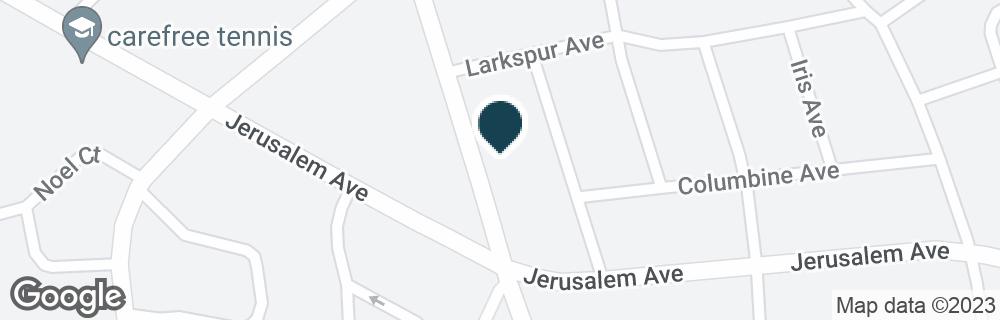 Google Map of1149 MERRICK AVE #1171