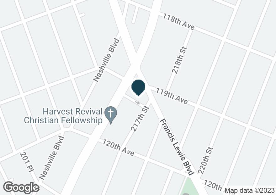 Google Map of11907 SPRINGFIELD BLVD