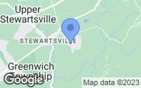 Map of Stewartsville, NJ