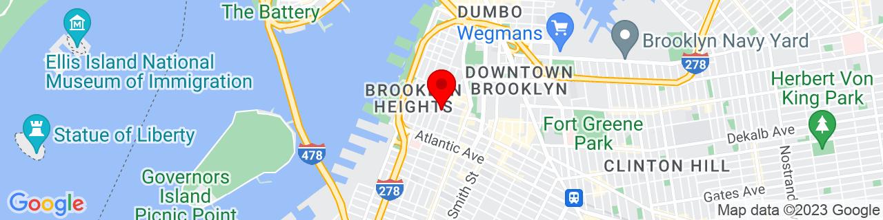 Google Map of 40.693228, -73.994103