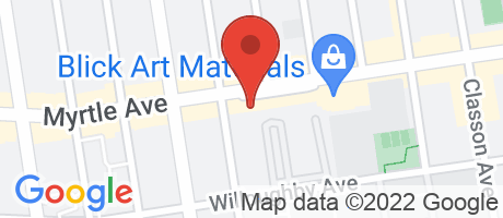 Branch Location Map - TD Bank, Clinton Hill Branch, 490 Myrtle Ave, Brooklyn NY