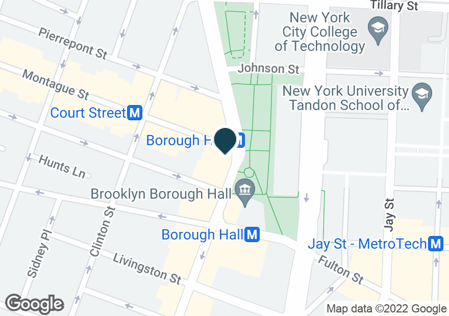 Google Map of16 COURT ST