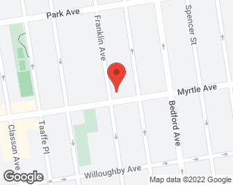 New York City Real Estate | View 647 Myrtle Avenue, #1 FL | map