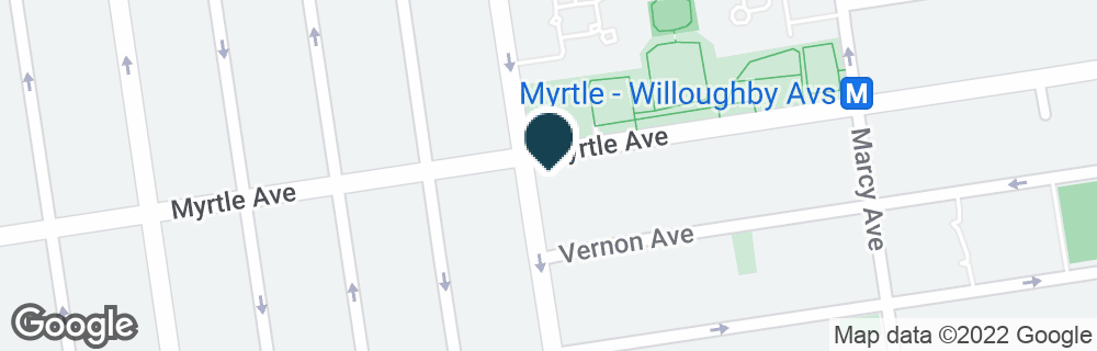 Google Map of756 MYRTLE AVE