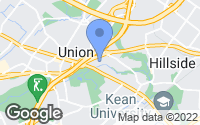 Map of Union, NJ