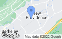 Map of New Providence, NJ