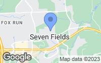 Map of Seven Fields, PA