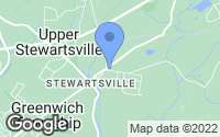 Map of Stewartsville, NJ