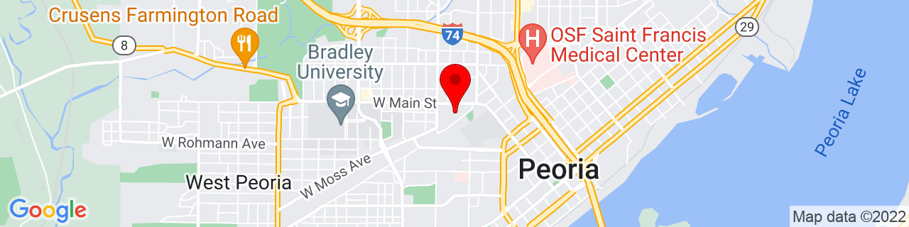 Google Map of 40.698744, -89.601514