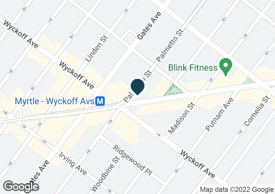 Google Map of5411 MYRTLE AVE