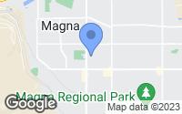 Map of Magna, UT