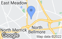 Map of North Bellmore, NY