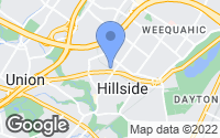 Map of Hillside, NJ