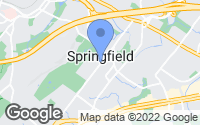 Map of Springfield Township, NJ