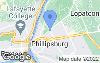 Map of Phillipsburg, NJ