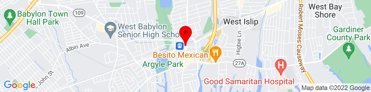Google Map of 40.700656, -73.3225915