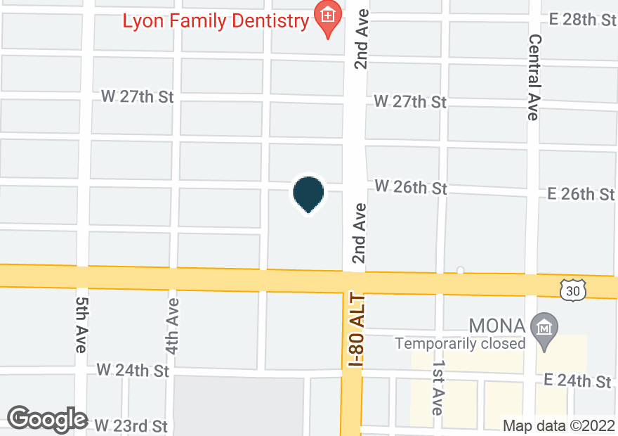 Google Map of2516 2ND AVE