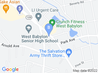 Map of K9CLUBHOUSE Dog Hotel Dog Boarding options in West Babylon | Boarding