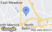 Map of North Bellmore, NY