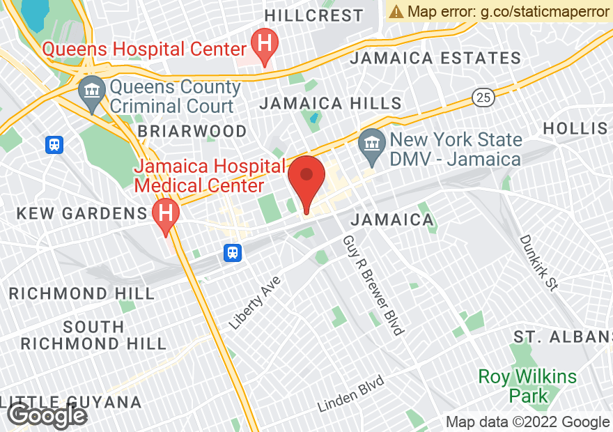 Google Map of 15934 JAMAICA AVE