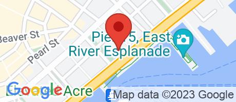 Branch Location Map - N.U.L. Federal Credit Union, Main Office, 120 Wall St Fl 8, New York NY