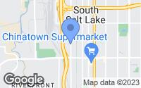 Map of South Salt Lake, UT