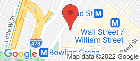 Branch Location Map - Chase Bank, Broadway Morris Exchange Branch, 42 Broadway, New York NY