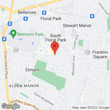 Map of Taco Bell at 1625 Hempstead Turnpike, Elmont, NY 11003