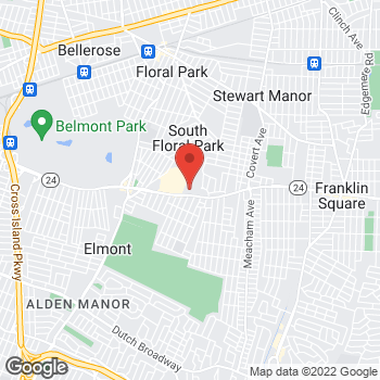 Map of Optimum WiFi Hotspot at 700 Hempstead Tpke, Elmont, NY 11003