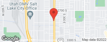 Map of 2900 State Street in Salt Lake City