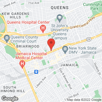Map of Rite Aid at 162-19 Hillside Avenue, Jamaica, NY 11432