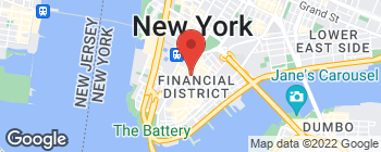 Map of 49 Nassau St in New York