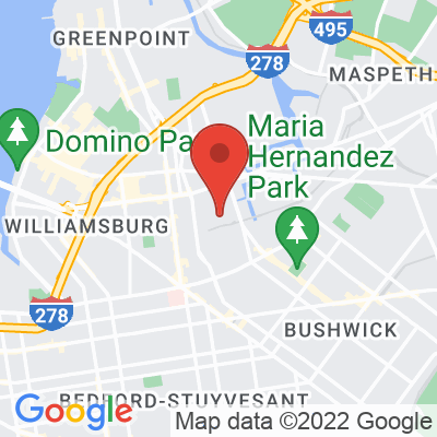 Map showing City of Saints Coffee Roasters