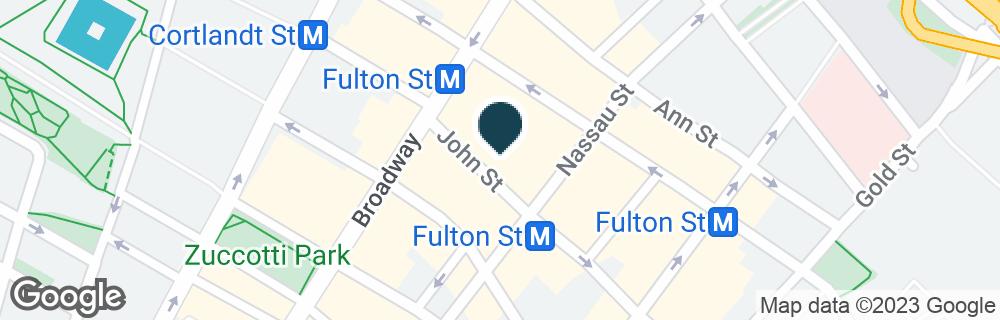 Google Map of17 JOHN ST