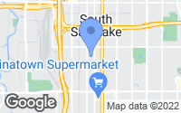 Map of South Salt Lake, UT