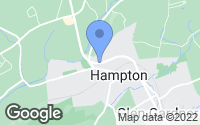 Map of Hampton, NJ