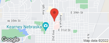 Map of 3423 2nd Ave in Kearney